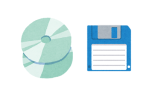 会社設立の時のOCR専用のディスク